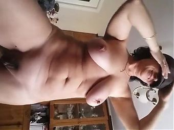 Solo Milf - Waves, Strips and Rubs Herself
