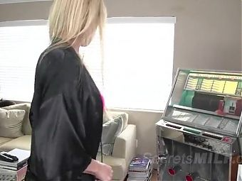 Older Stepmom to Be Dominated by Young Stepson