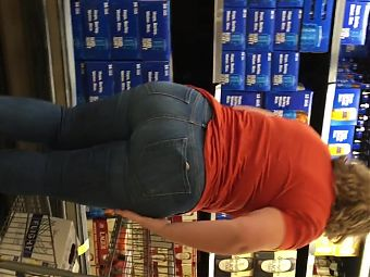 Amazing Pawg milf pear bubble nice af in jeans
