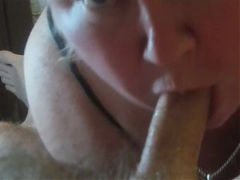 beautiful blowjob from mother-in-law and throbbing cock