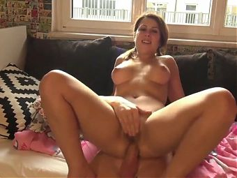 Her first anal sex with creampie