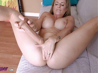Which Hole Do You Want? Stepmom Cory Chase Gifts Her Ass
